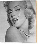 Marilyn Monroe, Ca. Mid 1950s Wood Print