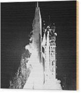 Mariner 1: Launch, 1962 Wood Print