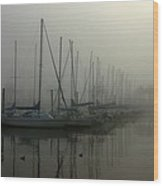 Mariners Mist Wood Print