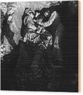 Marines Share A Foxhole With An Orphan Wood Print