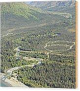 Marion Creek Camp Ground Wood Print