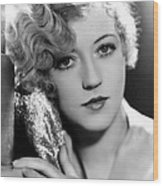 Marion Davies, 1928 Wood Print by Everett