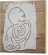 Market Seller 6 Wood Print