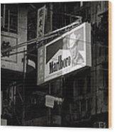 Marlboro In Hong Kong Wood Print