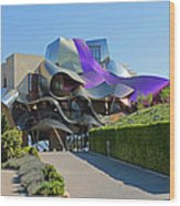Marques De Riscal Winery Spain Wood Print