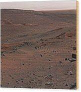 Mars Exploration Rover Spirit Wood Print by Stocktrek Images