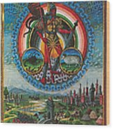 Mars, God Of War Wood Print