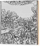 Mars, Roman God Of War Wood Print