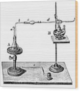 Marsh Test Apparatus, 1867 Wood Print by Science Source