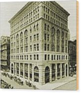 Marshall Field And Company, Retail Wood Print