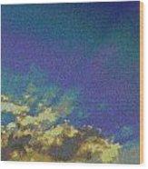 Martian Sky Wood Print