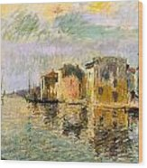 Martigues In The South Of France Wood Print