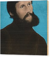 Martin Luther, German Theologian Wood Print
