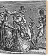 Martyrdom: Saint Julian Wood Print by Granger
