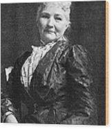 Mary Jones (1830-1930) Wood Print