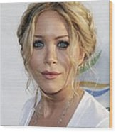 Mary-kate Olsen At Arrivals For Weeds Wood Print