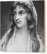 Mary Tighe (1772-1810) Wood Print