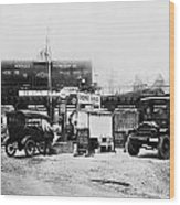 Maryland: Gas Station, C1921 Wood Print