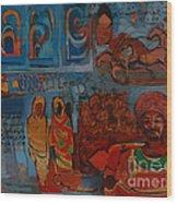 Maseed 01 Wood Print