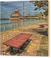 Masjid Putra Wood Print