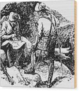 Mason And Dixon, 1763-67 Wood Print