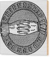 Masonic Symbol Wood Print
