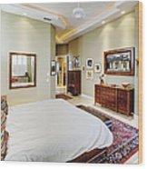 Master Bedroom Wood Print
