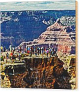 Mather Point Wood Print
