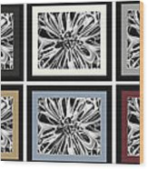 Matte Colors Wood Print