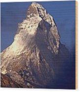 Matterhorn Morning-2 Wood Print