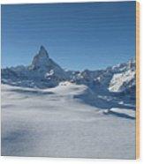 Matterhorn, Switzerland Wood Print