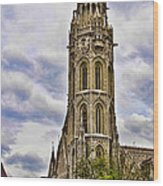 Matthias Church Tower - Budapest Wood Print
