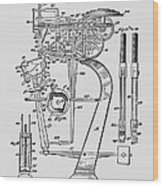 Matzeliger's Lasting Machine Wood Print