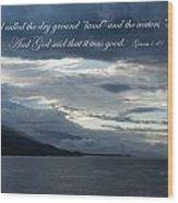Maui Scripture I Wood Print