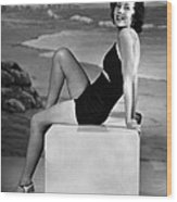 Maureen Osullivan, Ca. 1930s Wood Print by Everett