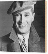 Maurice Chevalier, Ca. 1930 Wood Print