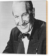 Maurice Chevalier Wood Print by Granger