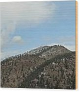 May In The Rockies Wood Print