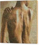 Maya Desnuda Wood Print