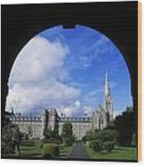 Maynooth Seminary, Co Kildare, Ireland Wood Print