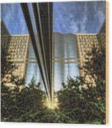 Mayo Squared Wood Print