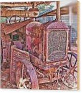 Mccormack Deering Tractor  Wood Print