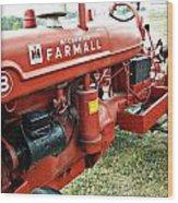 Mccormick Farmall Wood Print