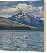 Mcdonald Lake Super Panorama Wood Print