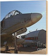 Mcdonnell Douglas Ta-4j Skyhawk Aircraft Fighter Plane . 7d11302 Wood Print by Wingsdomain Art and Photography