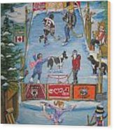 Mcdonnell Rink Wood Print