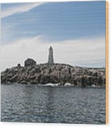 Mcnutt's Island Lighthouse Wood Print