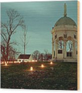 Md. Monument And Dunker Church 11 Wood Print