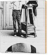 Measurement Of The Cubit, Bertillon Wood Print