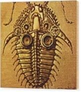 Mecha-trilobite 3 Wood Print